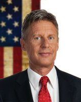 Gary Johnson Hits Local Talk Radio